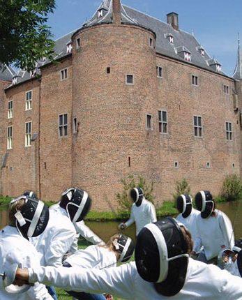 Clinic bij kasteel